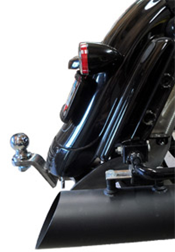 Street Glide Hitch, 2014+, Chrome
