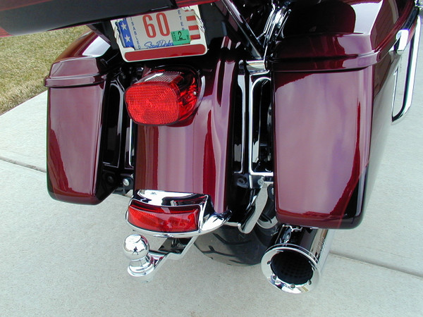 Electra Glide Hitch, 2014+, Chrome