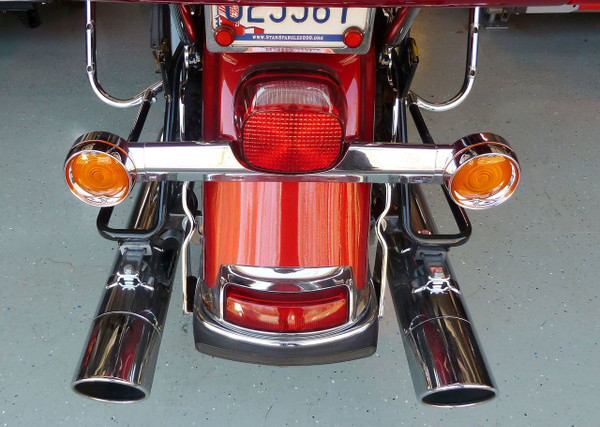 Electra Glide Hitch, 09-13, Chrome