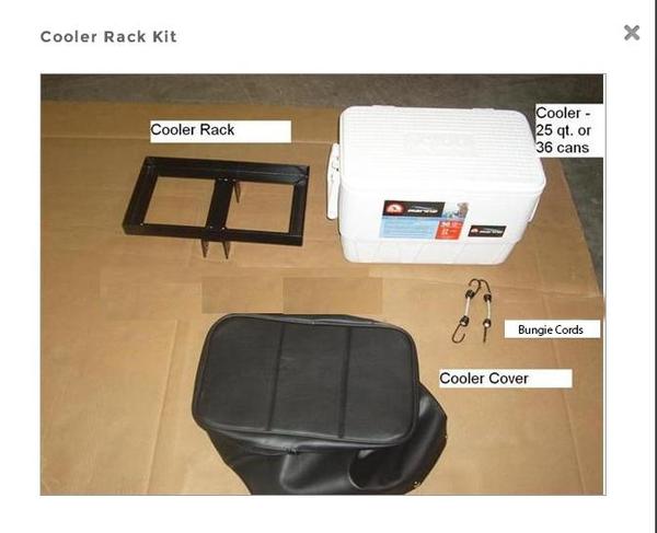 Tongue-Mounted Cooler Kit