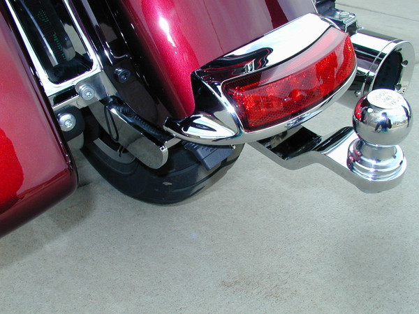Road Glide Ultra/CVO Hitch, 2015+, Chrome
