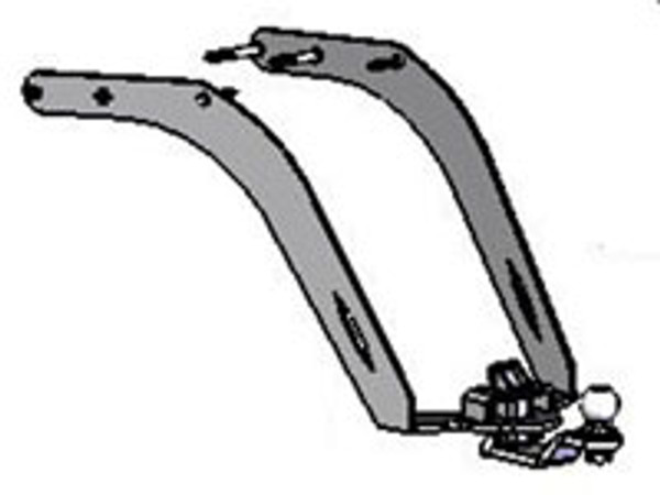 VTX 1300 & 1800 R Hitch, 04-09, Chrome