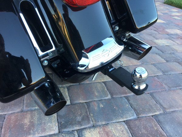 Road Glide Ultra Hitch, 2015+, Black