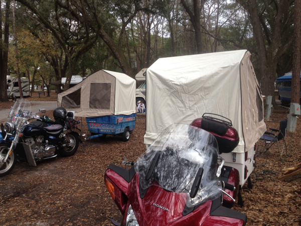 10 Reasons Why Motorcycle Campers Are Awesome