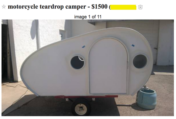 Buying a Used Motorcycle Camper -- Part 1: Where to Look