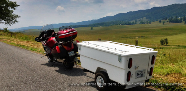 Motorcycle Camping: Escape to the Blue Grass Valley