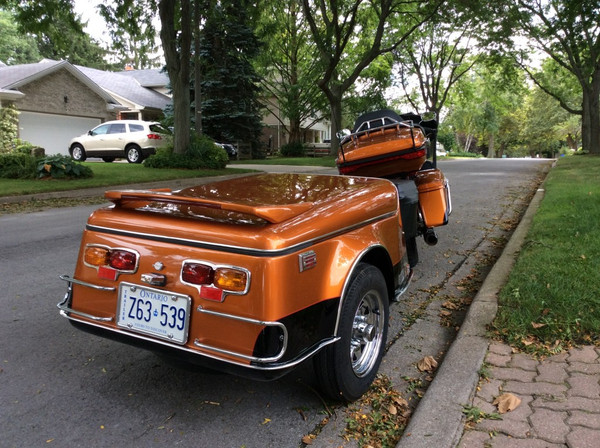 Super-Nice Escapade LE Motorcycle Trailer - Customer Pics