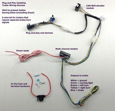 [DVZP_7254]   Indian 5-Wire Trailer Harness - Open Road Outfitters | A Wiring Harness India |  | Open Road Outfitters