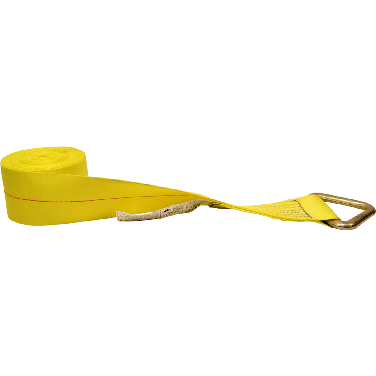 """4821XW30V 4"""" Wide Loose End Cargo Strap"""