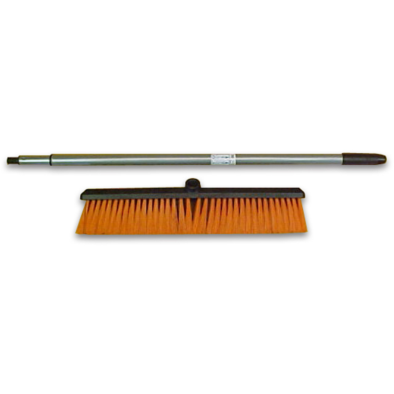 Push Broom with Telescoping Handle by Laitner