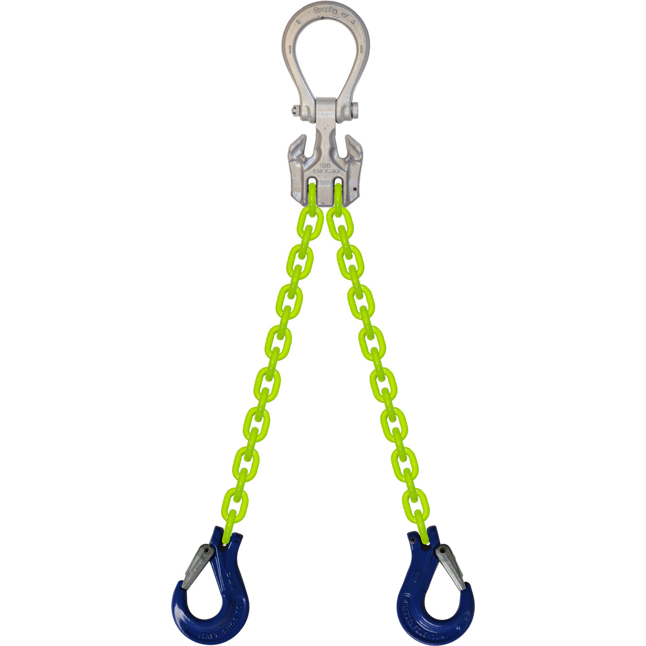 EDOS High Visibility Alloy Chain Sling by all-Aloy a Western Sling Company Brand