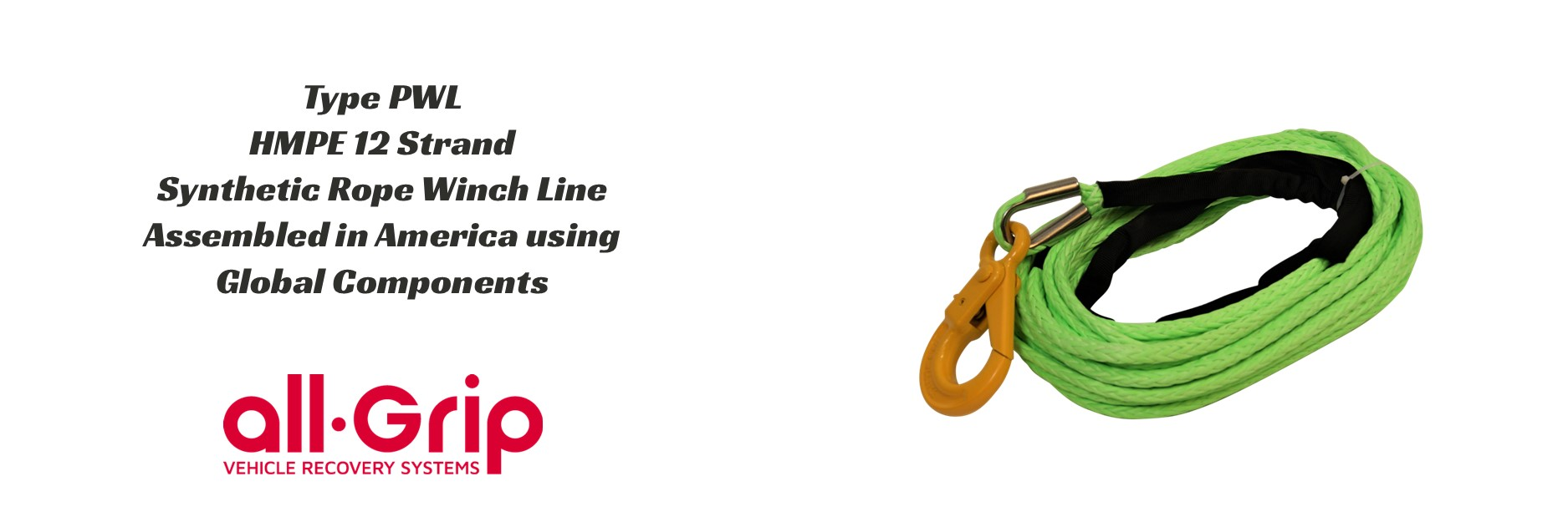all-Grip Synthetic Winch Lines