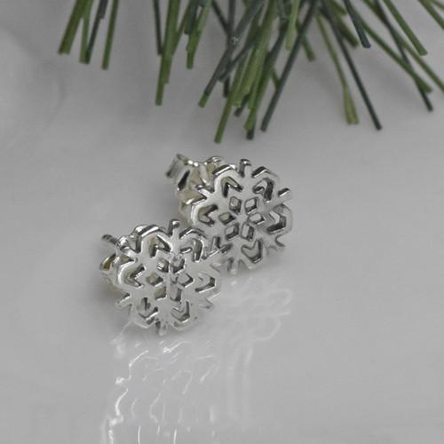 Sterling Silver Post Earrings, Studs