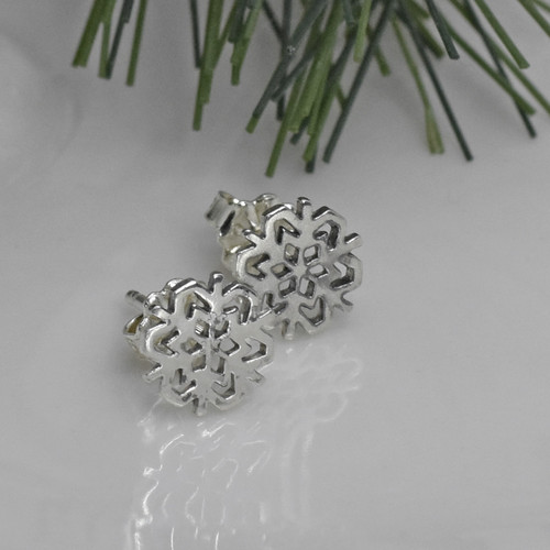 Sterling Silver Post Earrings, Studs