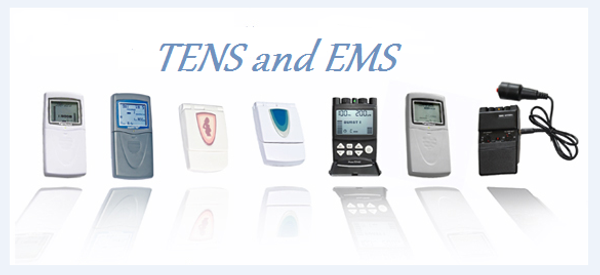 What is the difference between a TENS  and an EMS?