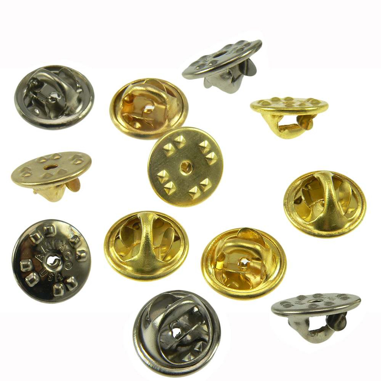 8467de6554e Military Clutch Butterfly Clasp Pin Backs | Lapel Pin Backs | Pin Back
