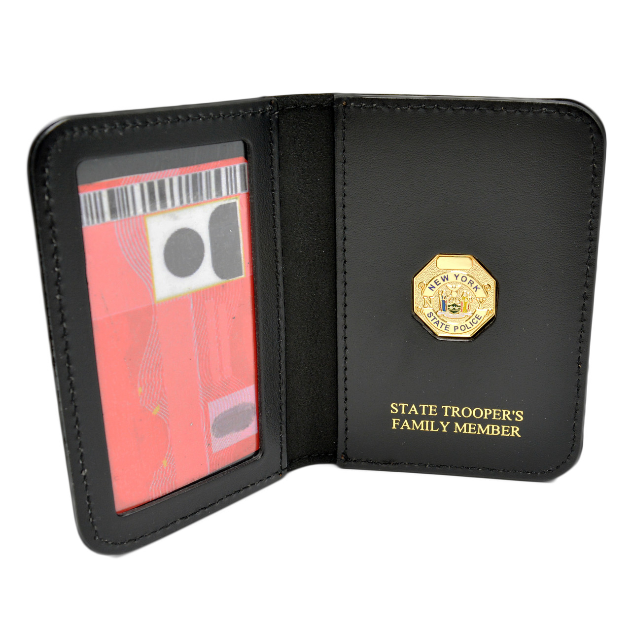 "1/"" mini Not Included NY//NJ Police-Style-Captain/'s Family Member Mini Wallet"