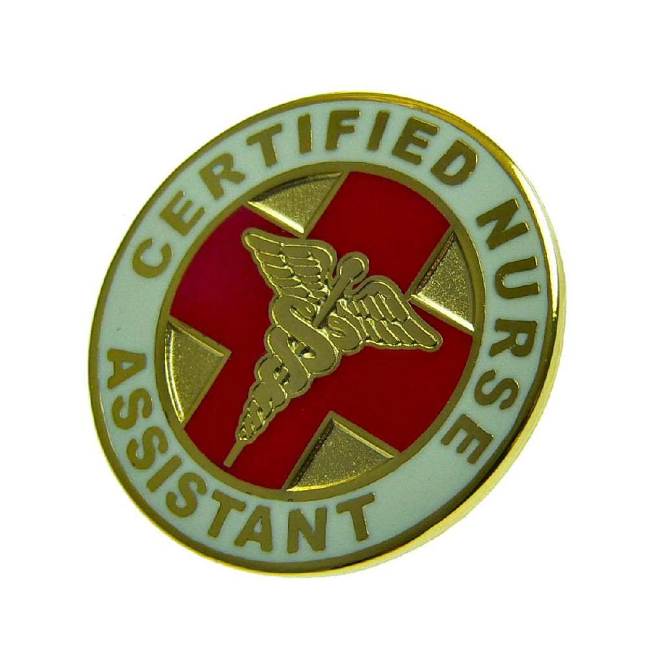 CNA Certified Nurse Assistant Lapel Pin