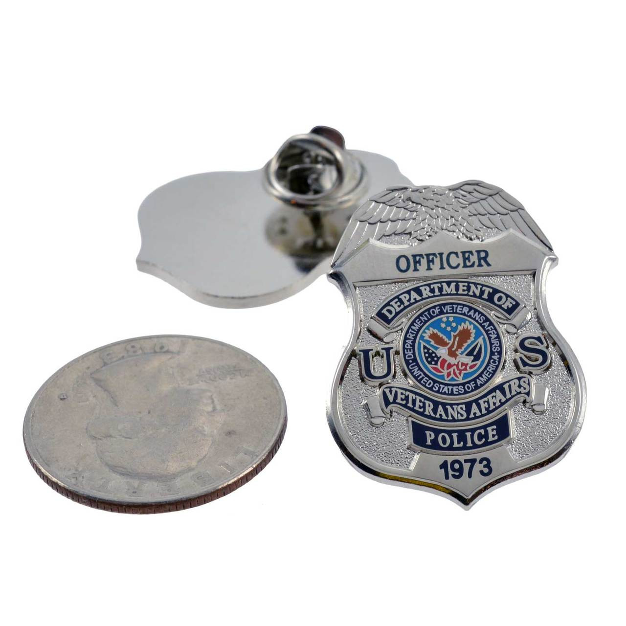 VETERANS AFFAIRS POLICE LAPEL PIN