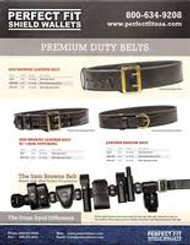 Perfect Fit Sam Brown and Ranger Duty Belts