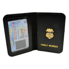 ATF Special Agent Family Member Mini Badge Wallet