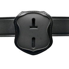 Laredo Police Belt Clip Badge Holder with Pocket and Chain