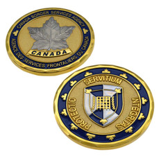 CBSA Canada Border Services Agency Challenge Coin