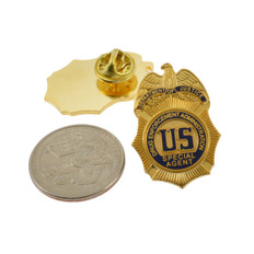 DEA Drug Enforcement Agency Special Agent Mini Badge