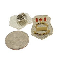 Canada Customs CBSA AFSC Mini Badge Lapel Pin