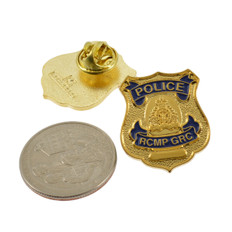 Canada RCMP GRC Police Mini Badge Lapel Pin