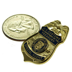 U S Customs Special Agent Mini Badge Pin