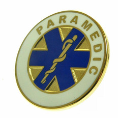 Paramedic Star of Life Lapel Pin