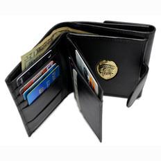 Ladies Supreme Hidden Badge Wallet for mini Badges