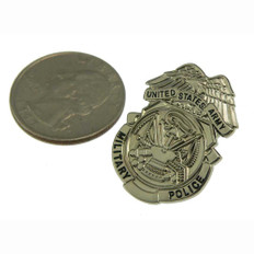 U S Army Military Police Mini Badge Pin