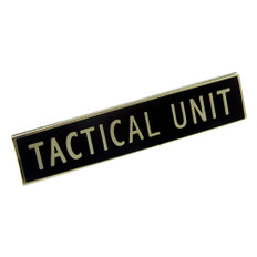 Tactical Unit Police Uniform Citation Bar Lapel Pin