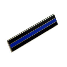Thin Blue Line Police Mourning Citation Bar
