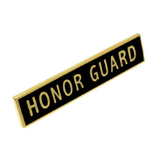 Honor Guard Police Uniform Citation Bar Lapel Pin