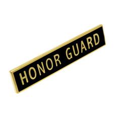 Honor Guard Police Uniform Citation Bar Lapel Pin