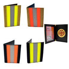 Firefighter's Bunker Gear Credit Card ID Case