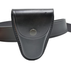 Perfect Fit Leather Closed Top Handcuff Case