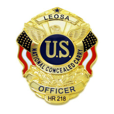 LEOSA Concealed Carry Badge Medallion Officer