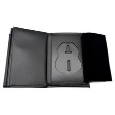 Veterans Affairs Badge Wallet Double ID Holders Federal Style Large Size