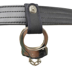 Perfect Fit Nylon Handcuff Strap with Safety Snap