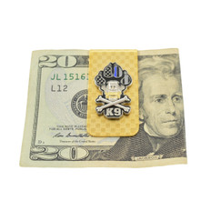 Police K9 Officer Money Clip