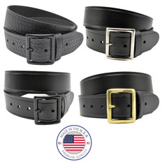 "Perfect Fit 1.75"" Premium Leather Garrison Belt"