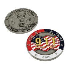 911 Dispatcher Challenge Coin