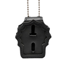NYPD Detective Clip on Badge Holder with Neck Chain