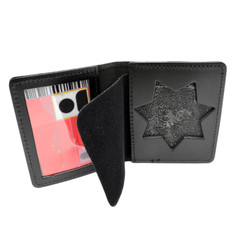 California Corrections Flat Badge ID Case Document Holder