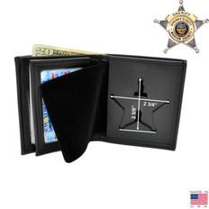 Ohio Sheriff Badge Wallet - Top Banner - B953