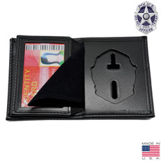 Dallas Texas Police Hidden Badge Wallet